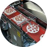 Pizza base interleaving