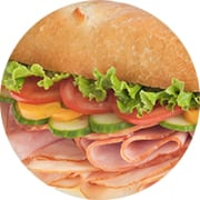 Stacked Deli Meat