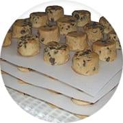 Interleaved Cookie Dough